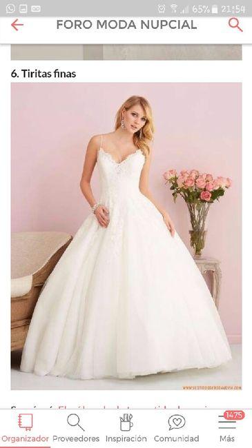 574934a7e Elegí las mangas de tu vestido de novia - 1