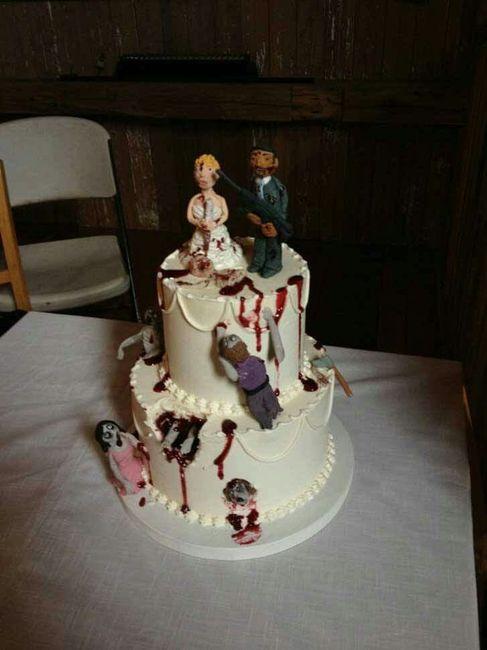 20 tortas de bodas divertidas - 3