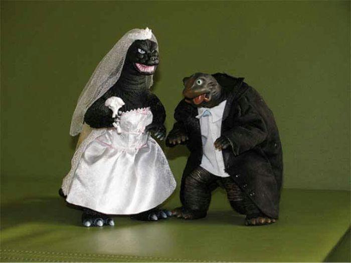 20 tortas de bodas divertidas - 5