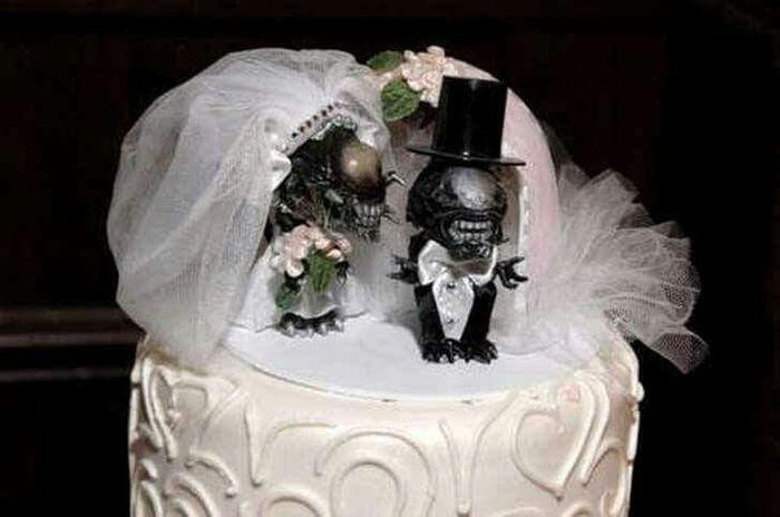 20 tortas de bodas divertidas - 9