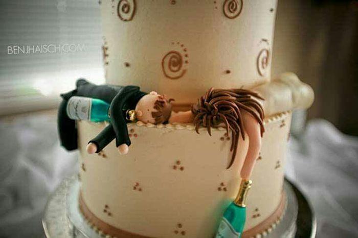 20 tortas de bodas divertidas - 10