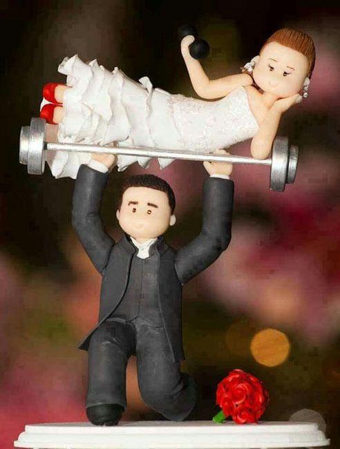 20 tortas de bodas divertidas - 16