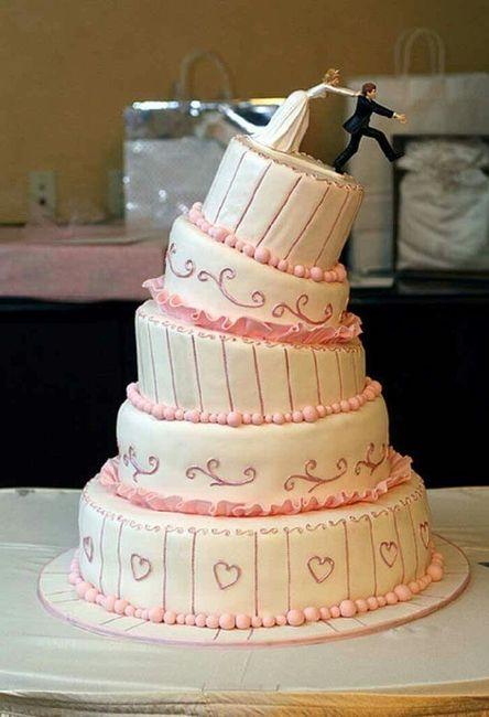 20 tortas de bodas divertidas - 20
