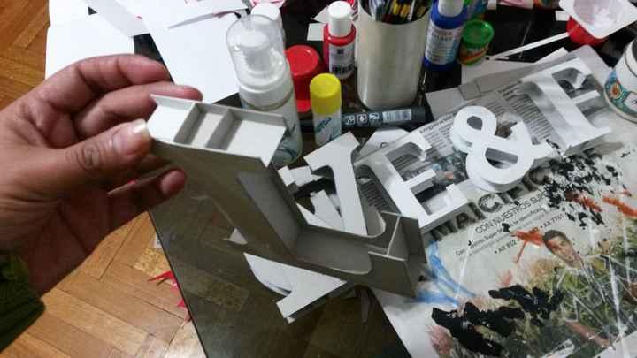 Letras de cartón!!! - 2