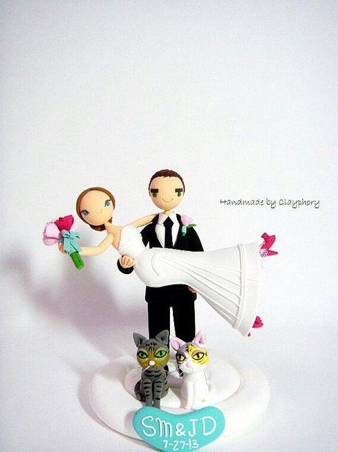 Muñecos de Torta Divertidos - 1