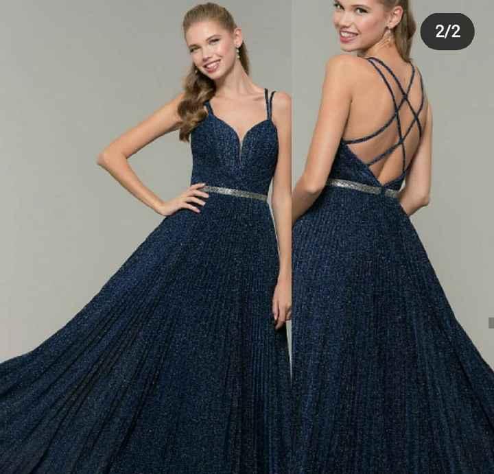 El vestido para la mamá de la novia es _____ ¡A VOTAR! - 1