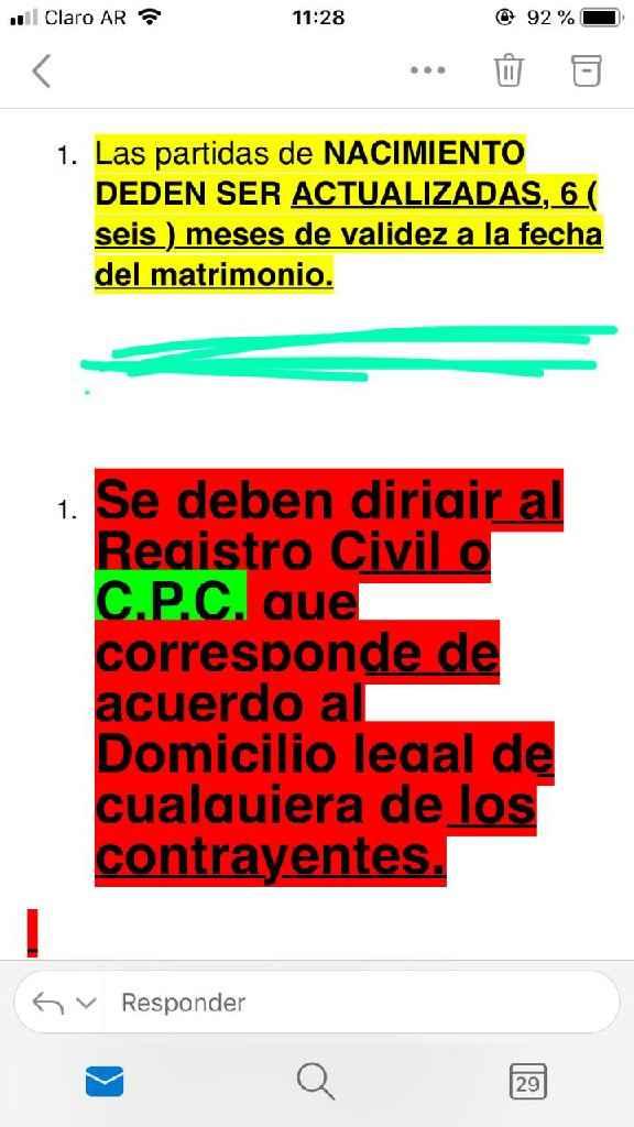 Partidas Civil - 1
