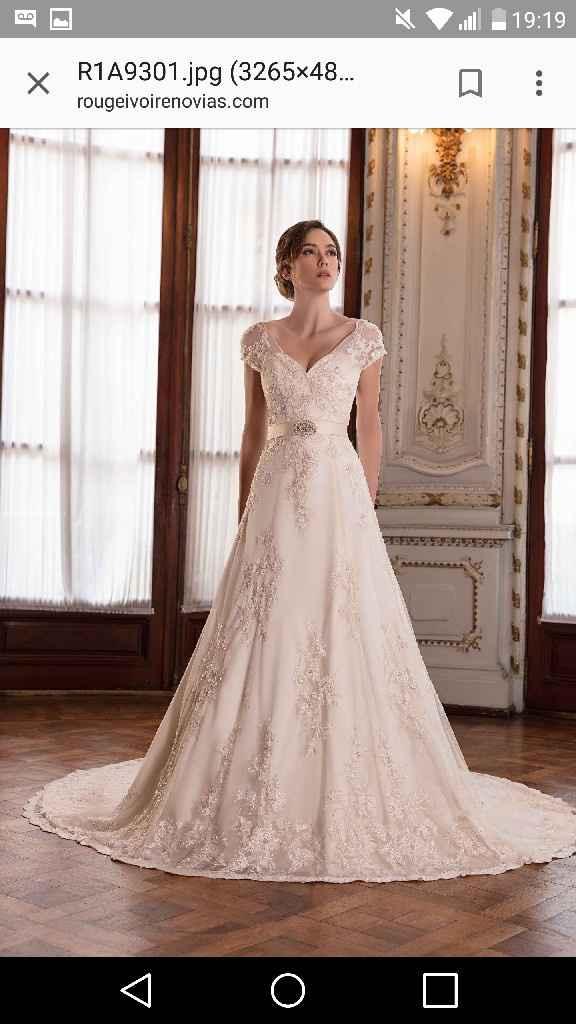 Vestido de novia... estilo vintage - 1