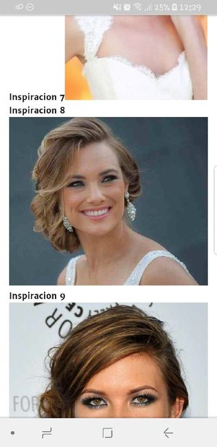 Peinados recogidos al costado
