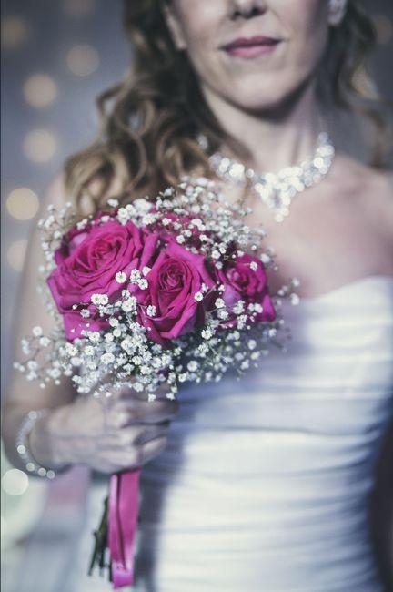 ramos de novia en color rosa ❤ 6