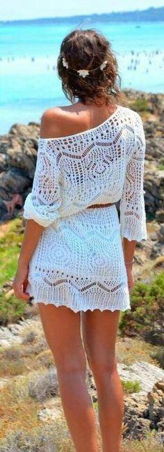 Vestidos De Crochet Y Macramé