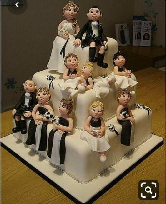 La torta con varios pisos: ¿Copado o Aburrido? 4