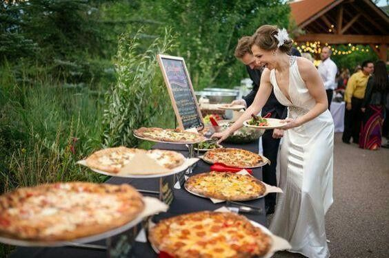 pizza party como catering - 1