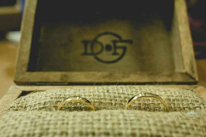 Los anillos llevados por niños o los tiene el novio - 3