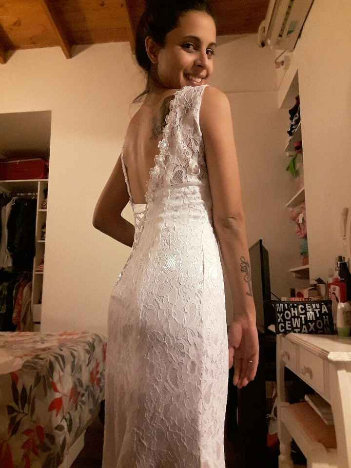 Mi vestido soñado, llegó  ❤ - 5