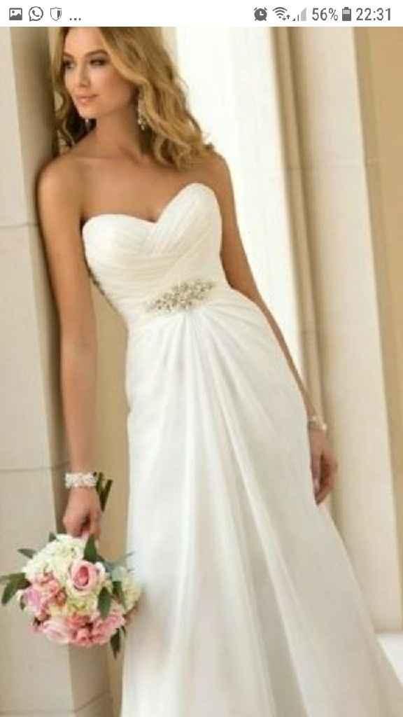 ¿Cómo quieres tu vestido de novia? - 1