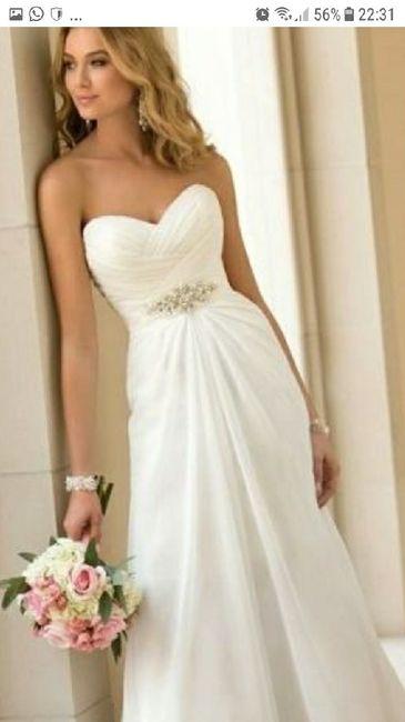 ¿Cómo querés tu vestido de novia? 1
