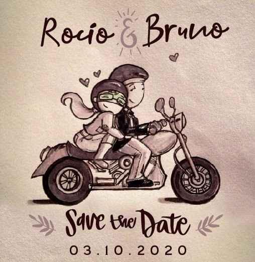 Rocío y Bruno - Nuestro Casamiento en 3 imágenes - 1