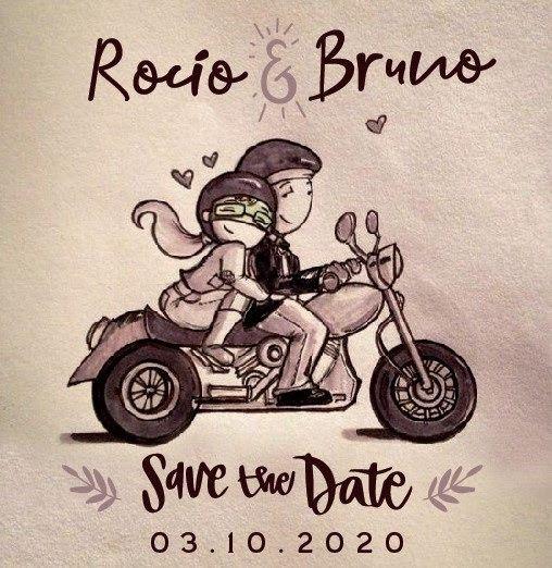 Rocío y Bruno - Nuestro Casamiento en 3 imágenes 1