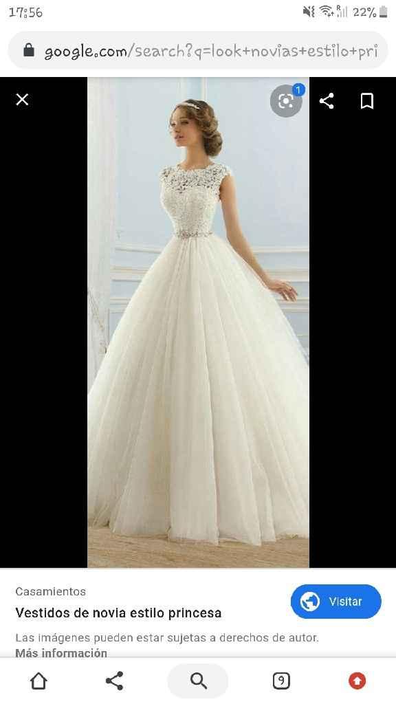 Angie + Mi look de novia será estilo princesa - 3