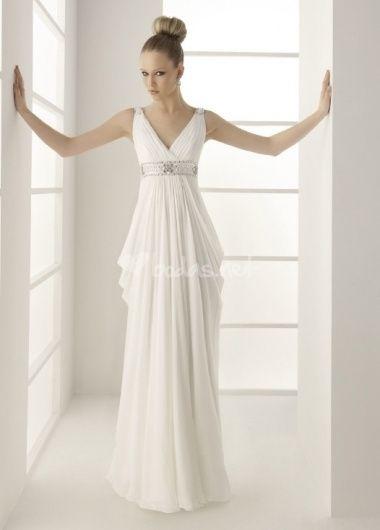 Vestido de novia estilo medieval