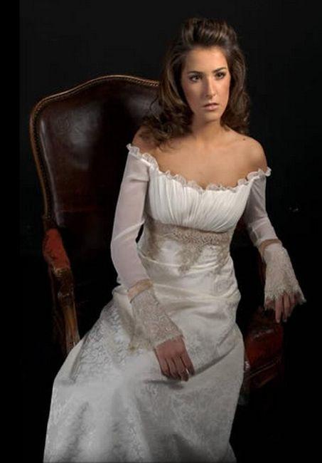 Fotos de vestidos de novia medievales