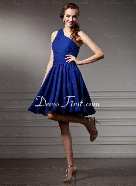 Vestidos de novia civil color azul