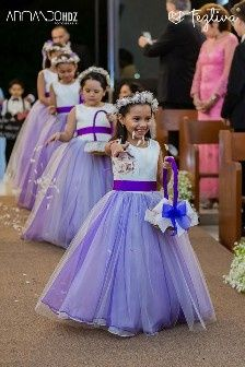 14 Vestidos Elegantes Y Modernos Para Pajecitas
