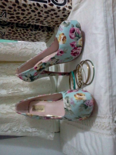 close up de los zapatos