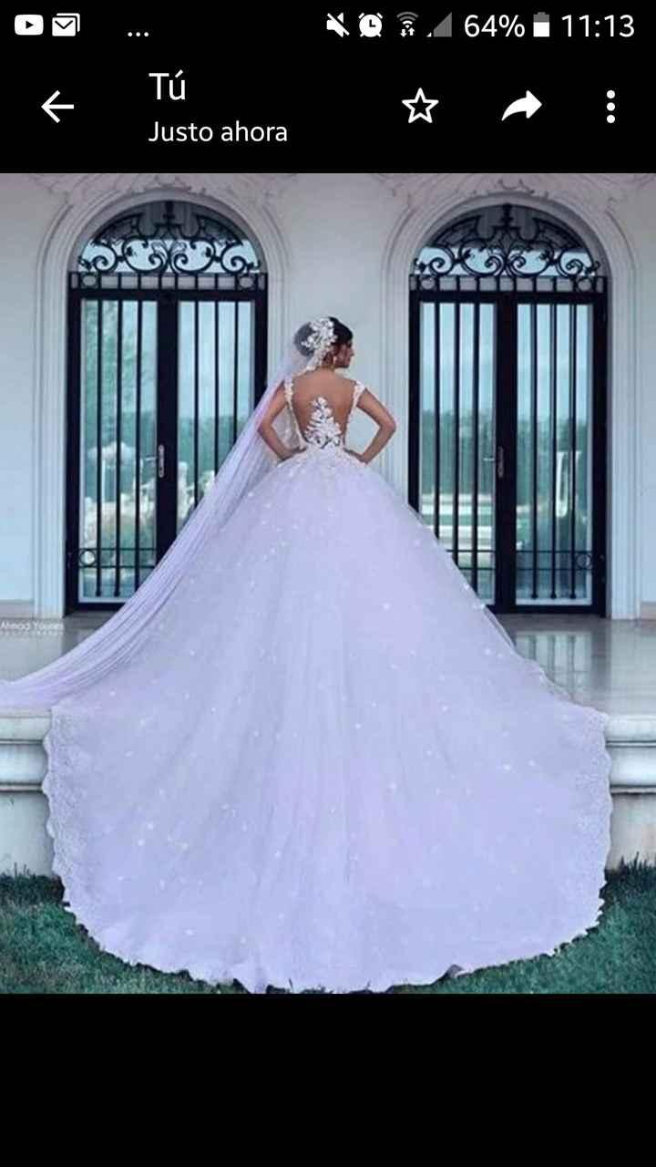 Tu vestido de novia es____ - 1
