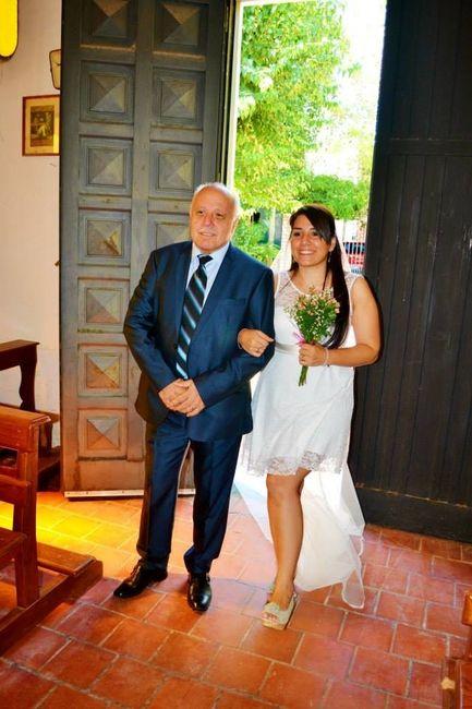 Entrando con mi papá