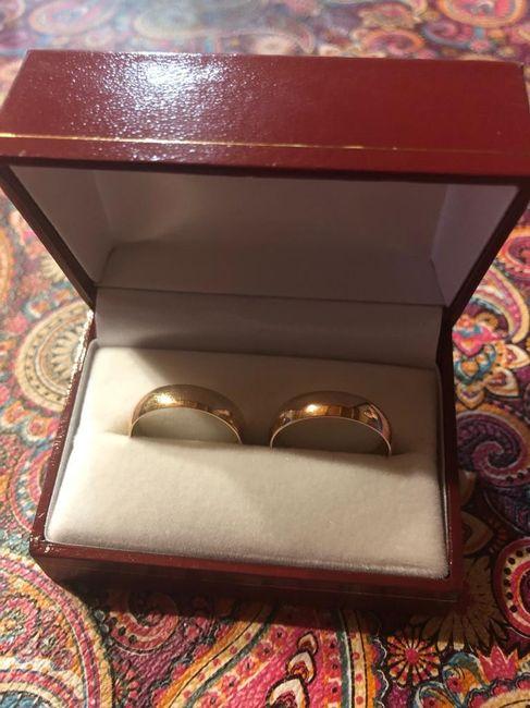 Cortejo en la ceremonia/anillos - 1