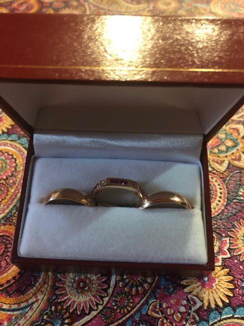Cortejo en la ceremonia/anillos - 2