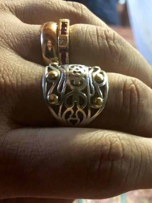 Cortejo en la ceremonia/anillos - 3