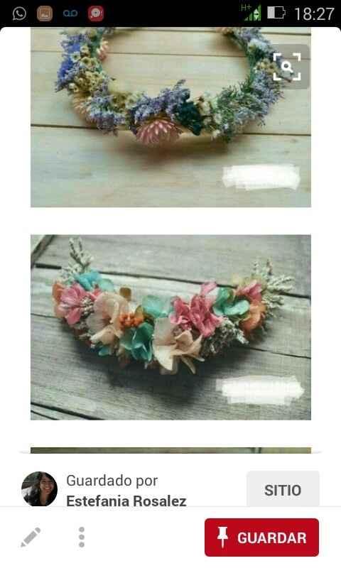 Corona de flores para la noche si/no - 2
