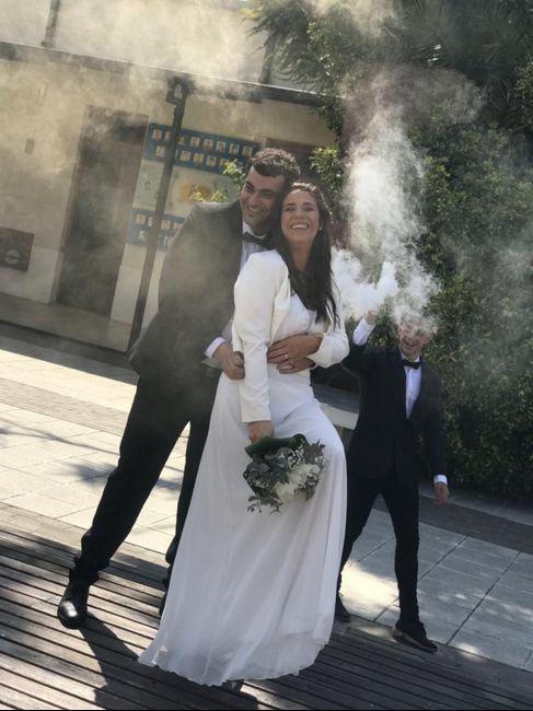 Los sueños se cumplen ... recién casados ♥️ 9