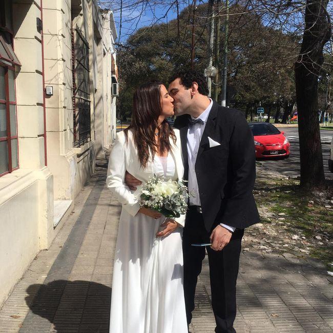 Los sueños se cumplen ... recién casados ♥️ 14