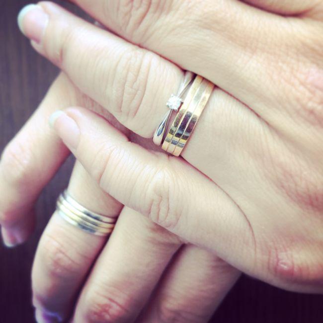 3119bbba92ad Como es el tema de los anillos de compromiso  2