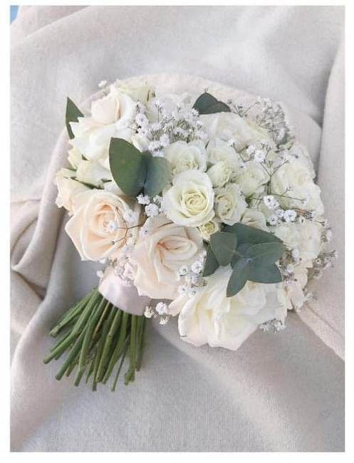 Ramo de novia civil e iglesia 7