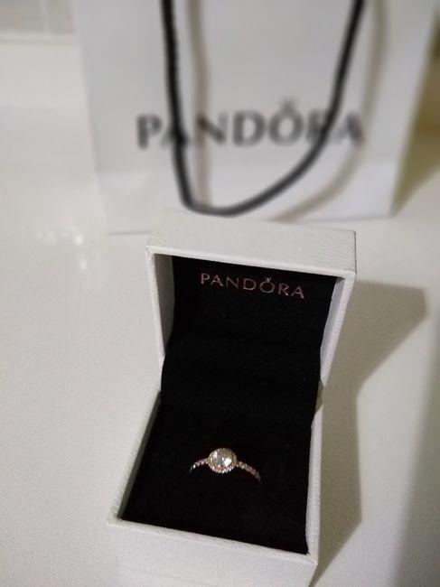 ¿Hubo anillo el día que se comprometieron? 2
