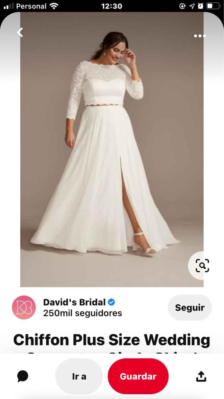 ¿Te atreverías a un no-vestido de novia? - 1