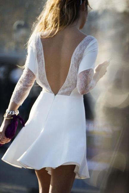 Ropa de la novia y el novio para la ceremonia civil 3