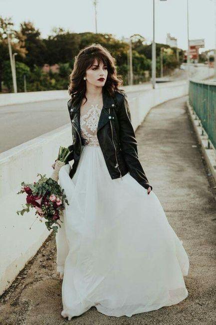 ¿Abrigo de novia elegante o informal? 2