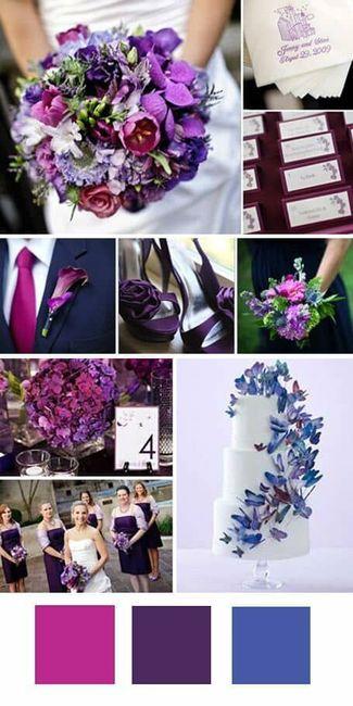 ¿Cuál es la paleta de colores de tu casamiento? 1