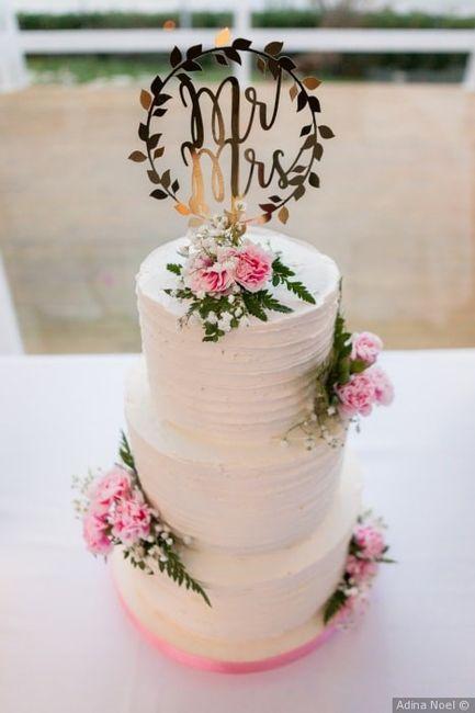 ¿Qué torta de novios va más con su estilo? 1