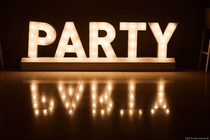 ¿Hasta qué hora será la fiesta? 1