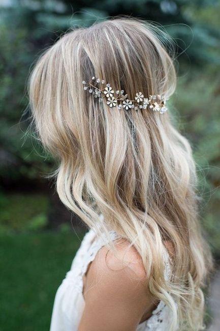 Peinados para novias que no quieren velo 2