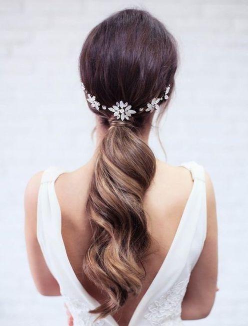 Peinados para novias que no quieren velo 3