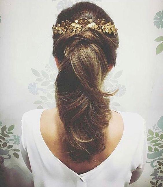Peinados para novias que no quieren velo 5