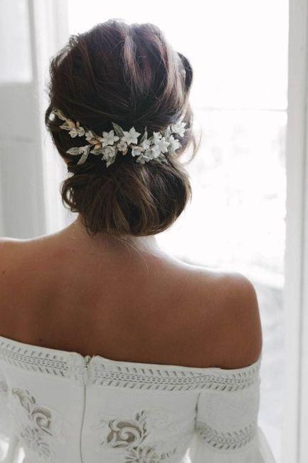 Peinados para novias que no quieren velo 6
